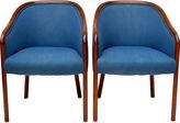 One Kings Lane Vintage Ward Bennett by Brickel Chairs, Pair