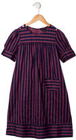 Little Marc Jacobs Girls' Striped Short Sleeve Dress w/ Tags