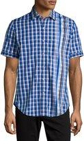 Robert Graham Lyle Plaid Short-Sleeve Sport Shirt, Multi