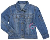 Limeapple Sport Horse Denim Jacket (Little Girls)