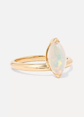 Stephen Webster Jitterbug 18-karat Gold Opal Ring - 7