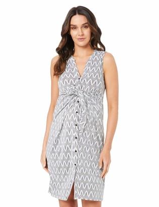 Ripe Maternity Women's Chevron Caress Business Casual Dress