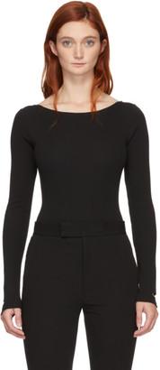 Marieyat Black Dao String Bodysuit