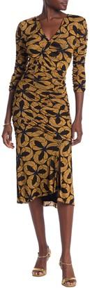 Diane von Furstenberg Briella Ruched Sheath Dress