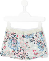 Zadig & Voltaire Kids - floral print shorts - kids - Polyester - 4 yrs