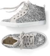 Gap Glitter hi-top sneakers