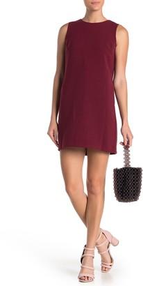 FRNCH Back Bow Sleeveless Shift Dress