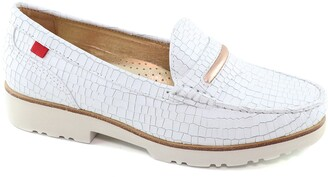 Marc Joseph New York Studio Lane Croc Embossed Loafer
