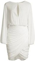 Jay Godfrey Mavis Keyhole Sequin Mini Dress