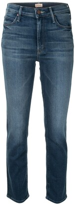 Mother The Dazzler mid-rise jeans