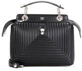 Fendi DotCom Click leather shoulder bag