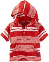 Osh Kosh Hooded Tee (Baby) - Stripe - 24 Months