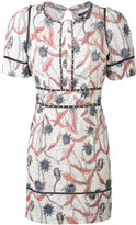 Isabel Marant Umbria dress - women - Cotton/Acrylic/Brass - 36