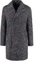 Solid Diem Short Coat Black