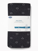 Old Navy Metallic-Printed Tights for Girls