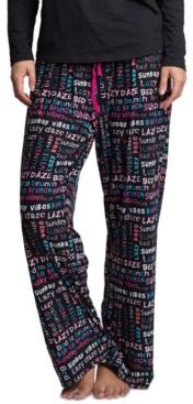 Muk Luks Printed Pajama Pants