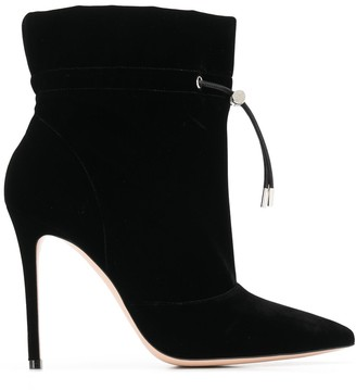 Gianvito Rossi toggle fastening boots