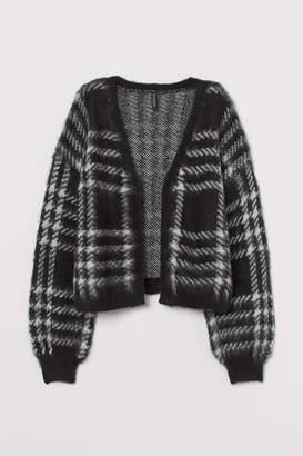 H&M Fluffy Cardigan - Black