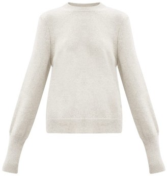 Petar Petrov Karmea Elongated-cuff Cashmere Sweater - Grey