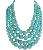 Mongolian Turquoise Necklace