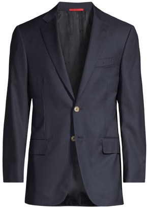 Isaia Basic Wool Blazer