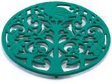 ODI HOUSEWARES Emerald Green Tree of Life Trivet