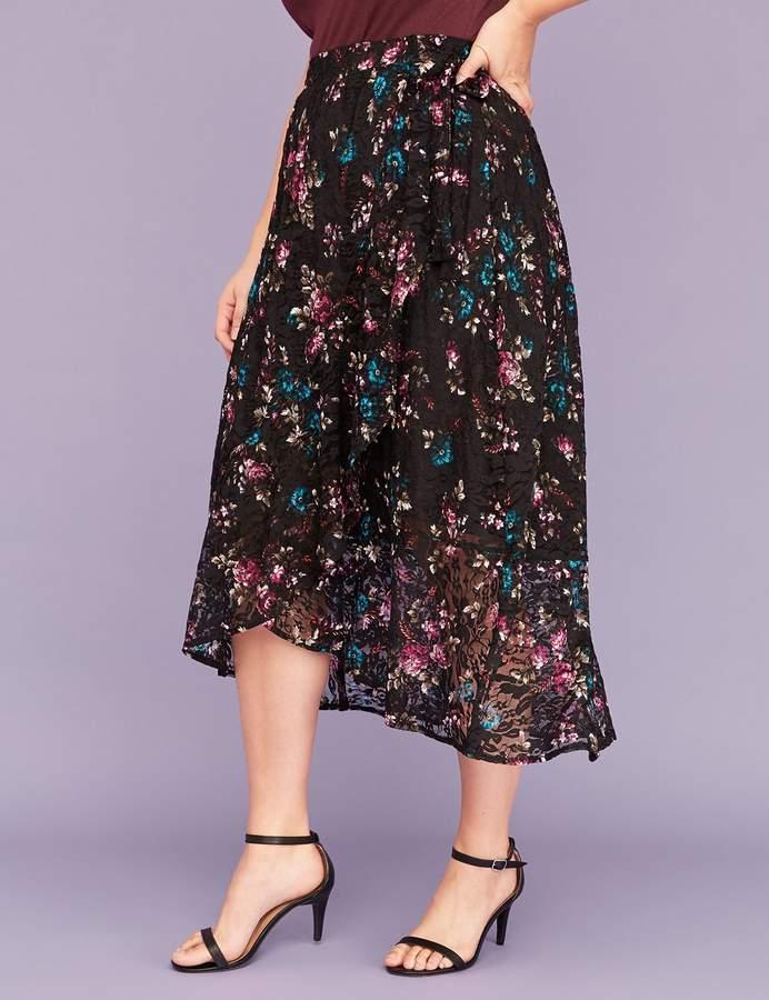 3654d8fd7c7 Plus Size Lace Skirt - ShopStyle