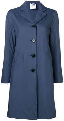 Aspesi straight fit midi coat