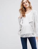 Isabella Oliver Portofino Sequin Maternity Jacket