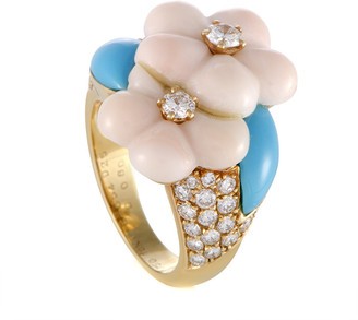 Van Cleef & Arpels 18K 0.80 Ct. Tw. Diamond & Gemstone Ring