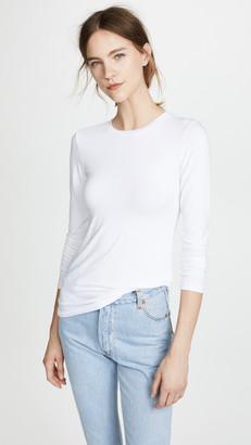 L'Agence Crew Neck Tess Shirt