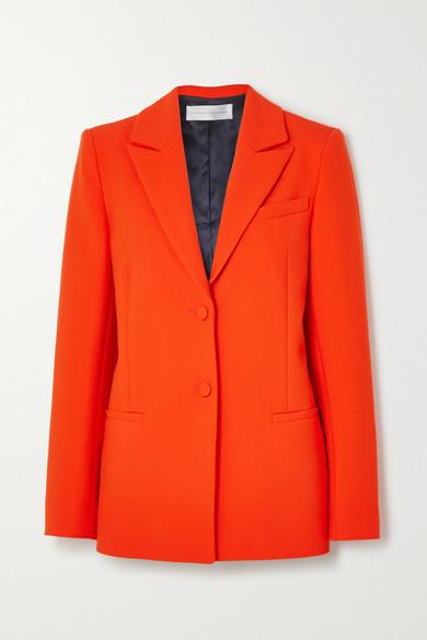Victoria Victoria Beckham Crepe Blazer - Red