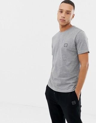 BOSS Tales small logo t-shirt in grey