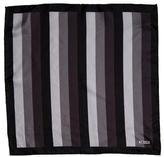 Tom Ford Striped Silk Pocket Square