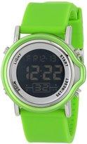 Izod Unisex IZS8/3 Green Sport Quartz 3 Hand Watch