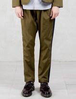 VALLIS BY FACTOTUM Tapered Drawstring Pants