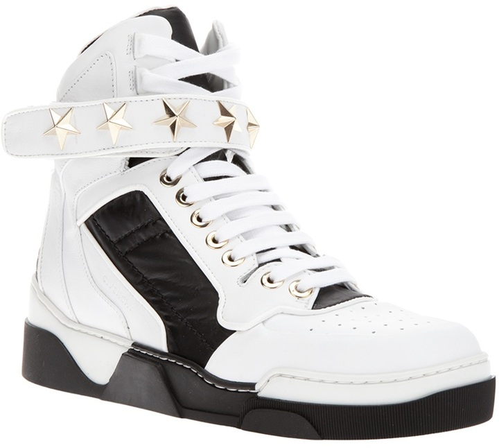 Givenchy star studded hi-top sneaker