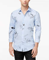 INC International Concepts Men's Printed Shirt, Created for Macy's