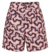 Isabel Marant Lelmon cotton and silk short