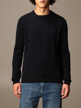 Brooksfield Crewneck Sweater With Logo