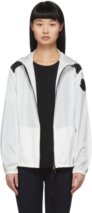 Moncler White Anthracite Jacket