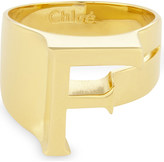 Chloé Alphabet F ring