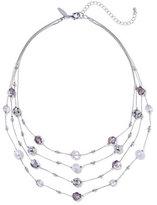 New York & Co. Beaded 4-Row Necklace