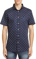 Sovereign Code Garwin Palm Tree Regular Fit Button-Down Shirt