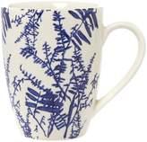 Linea Midnight Garden White Floral Mug