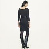Ralph Lauren Black Label Scoopneck Cashmere Dress