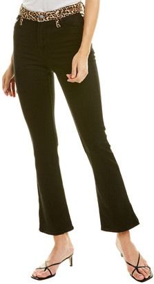 Alice + Olivia Fabulous High-Rise Queen Of The Night Baby Bootcut Jean