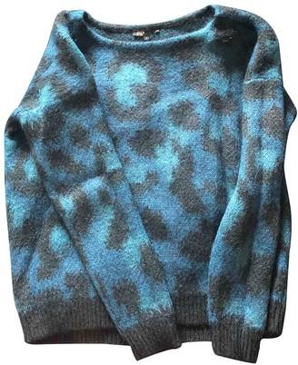 Maje Turquoise Wool Knitwear for Women