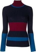 Erika Cavallini - turtleneck slim-fit jumper - women - Virgin Wool - M