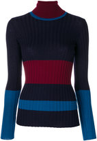Erika Cavallini - turtleneck slim-fit jumper - women - Virgin Wool - S
